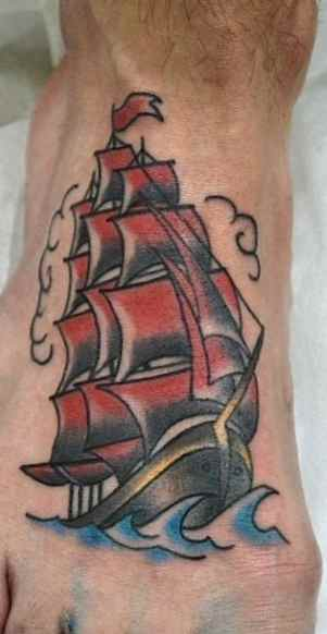 Rocket ship tattoo meaning