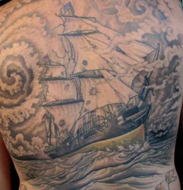 Ship storm tattoo meaning
