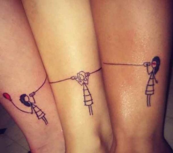 Small tattoo ideas for best friends