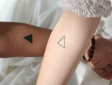 Small tattoo idea for couple
