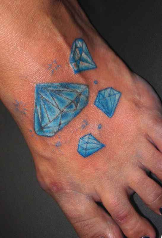Blue diamond tattoo collective