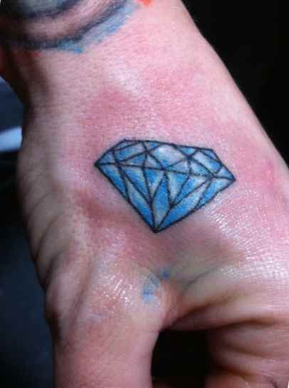 Blue diamond tattoo meaning