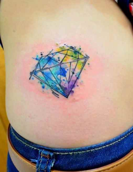 Diamond tattoo pictures