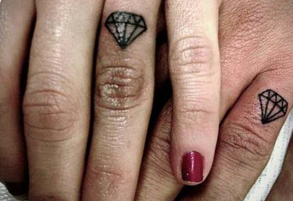 Meaning of a diamond tattoo