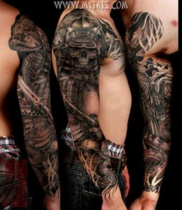 Skull sleeve tattoos tumblr