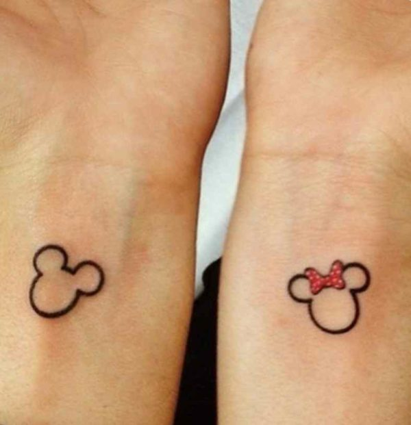 Cute tattoo idea for couples