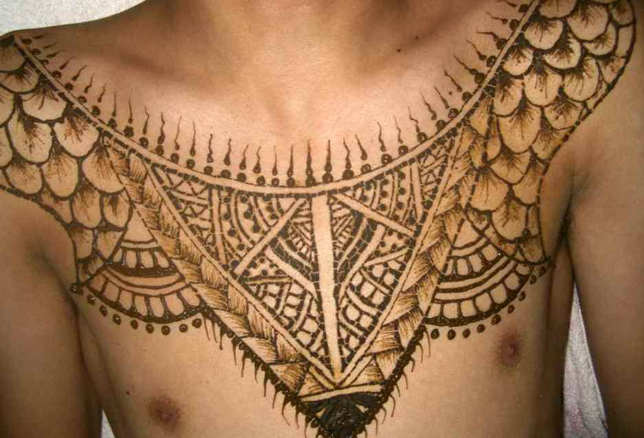 Mehndi Back Tattoo Designs : Henna tattoos for men tattoo designs ideas man and woman