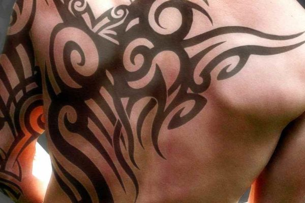 Henna tattoo for men
