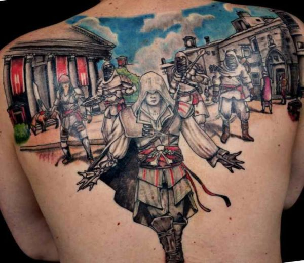 Assasins creed tattoo