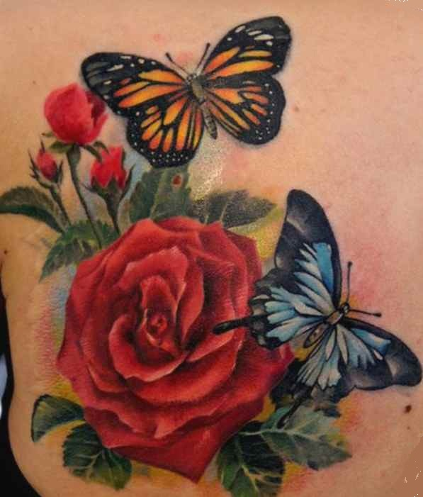Butterfly tattoo cover up designs