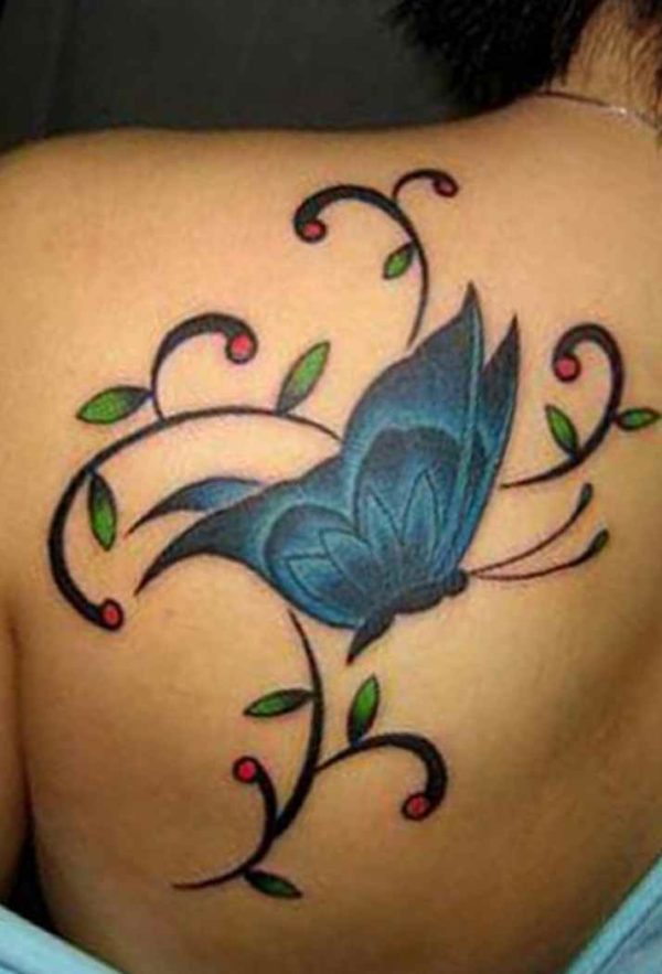 Butterfly tattoo design with meaning