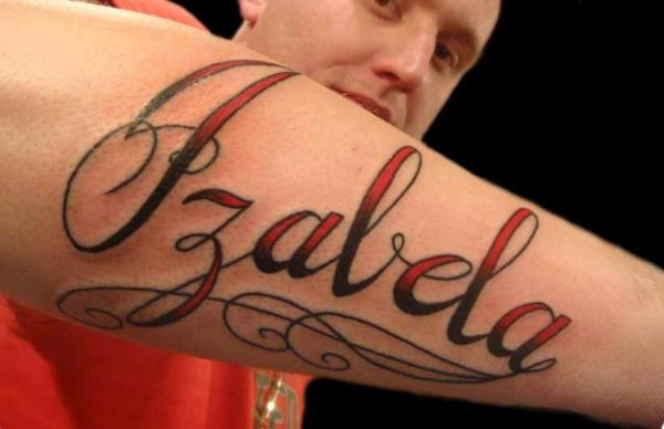 Cool tattoo name designs