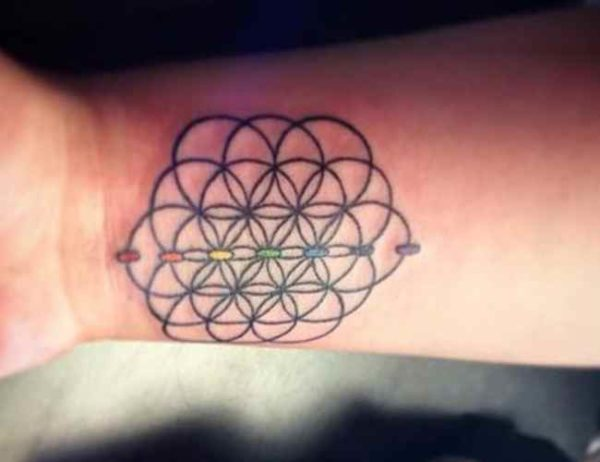 Cool tattoo on wrist