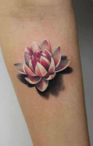 Lotus flower tattoo designs