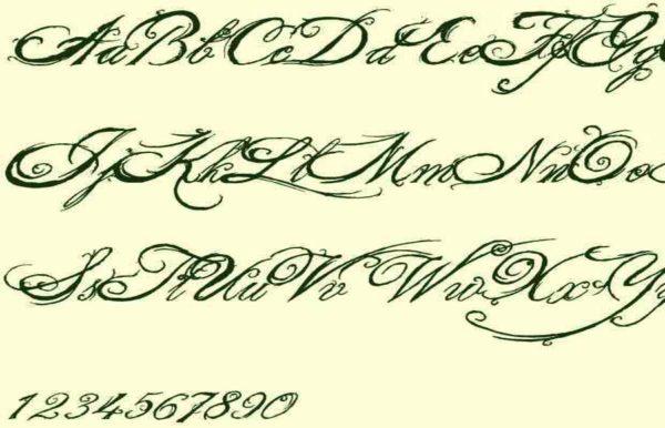 Tattoo font books