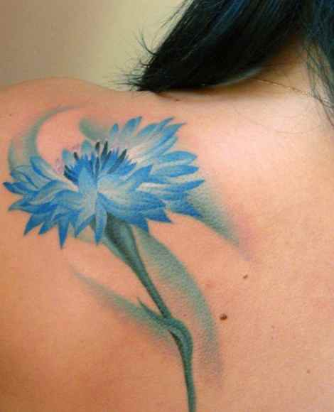 Unique flower tattoo designs