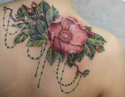 Flower tattoos and designs