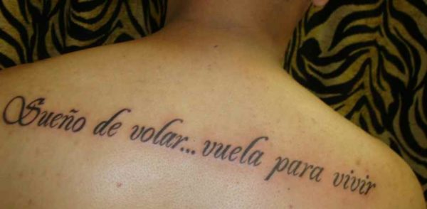 Meaningful tattoos in spanish