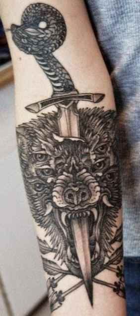 Sick tattoo idea for arm