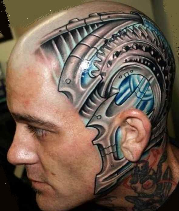 Sick tattoo idea for skull