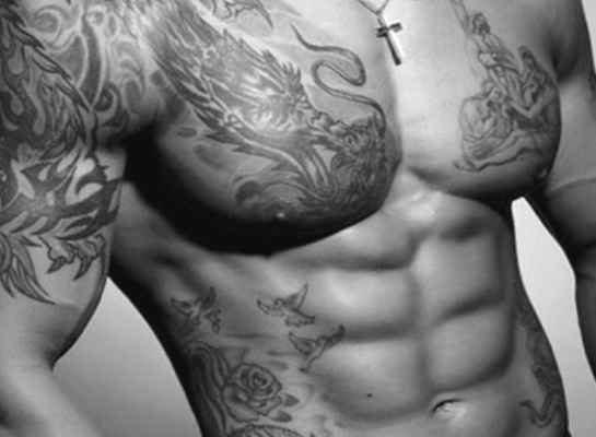 Tattoo designs for men skull