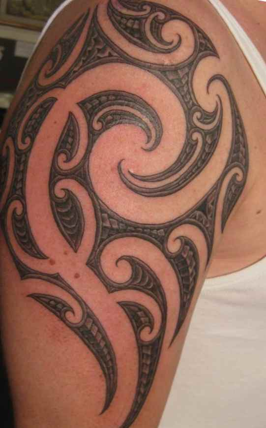 Borneo tribal tattoo