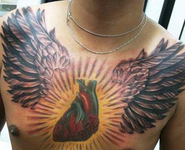 Tattoo ideas for men on chest