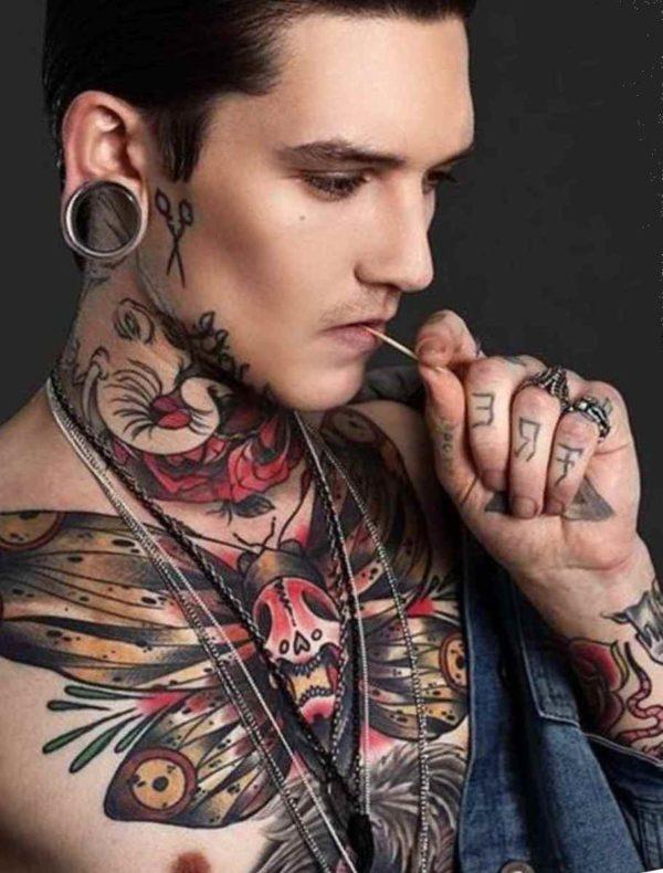 Tattoo ideas for men rib cage