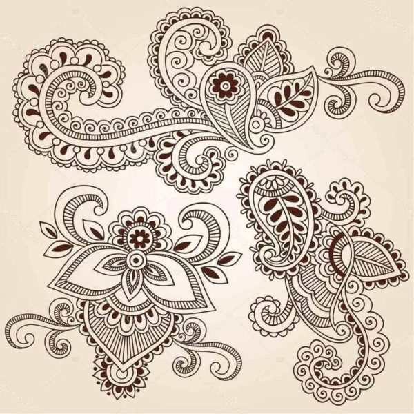 Henna tattoo designs and patterns