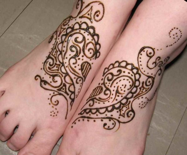 Henna tattoo designs ankle