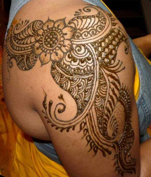 Henna tattoo designs arms