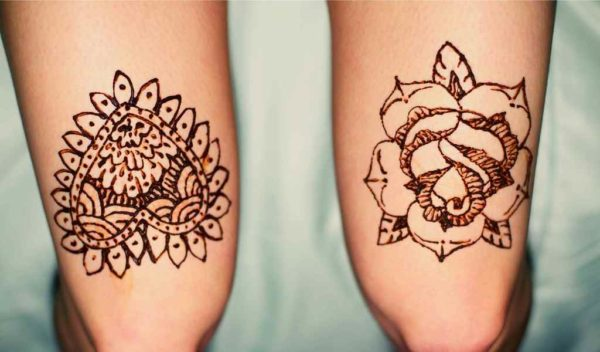 Henna tattoo designs beginners