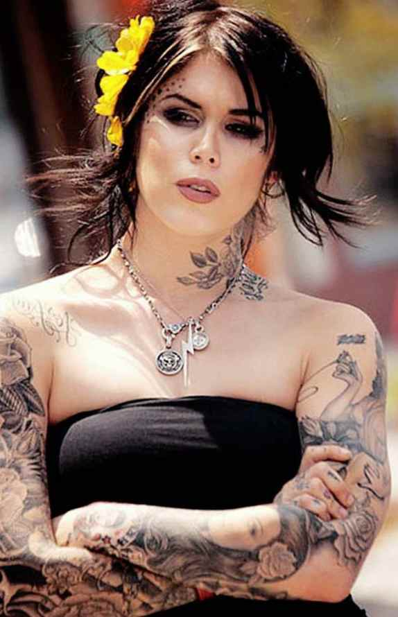 Kat von d breast cancer tattoos