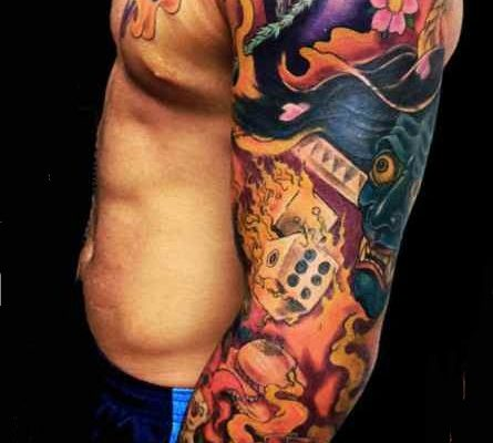 Color Tattoo sleeve ideas