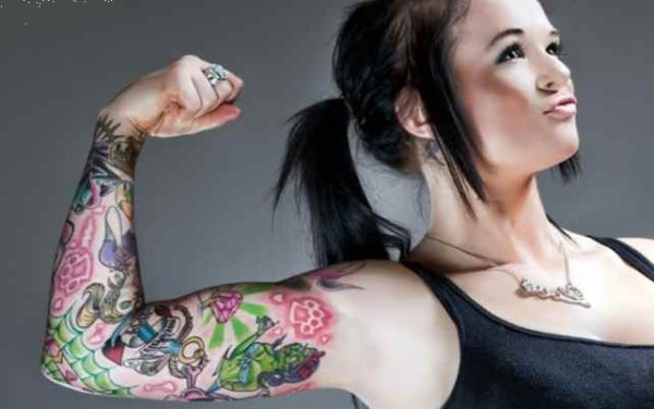Cool tattoo sleeve for women