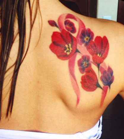 Virgo breast cancer tattoos