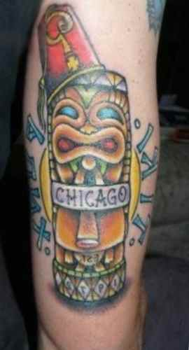 Chicago tiki tatoo