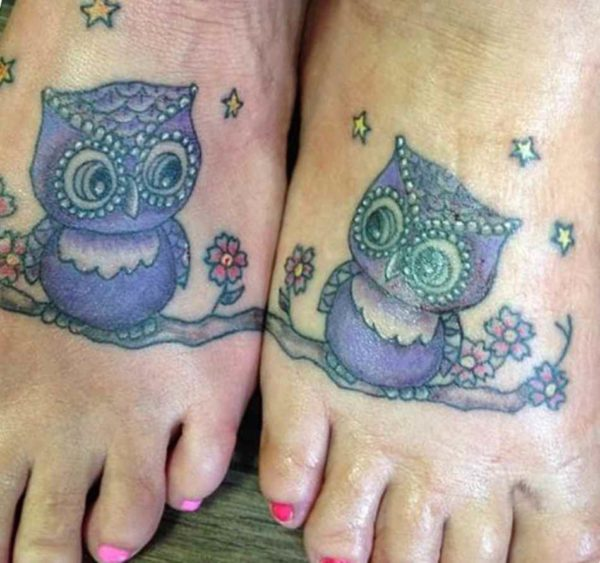 Cute meaningful sister tattoos