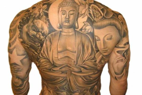 Buddha Tattoo on the back