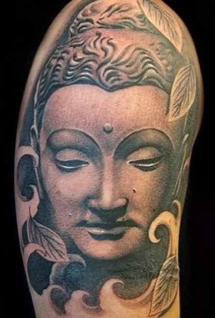 Buddha lotus tattoo meaning