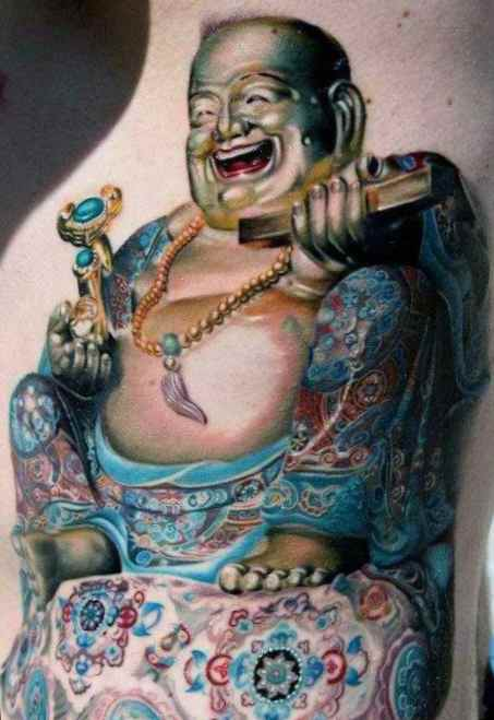Buddha tattoos meaning