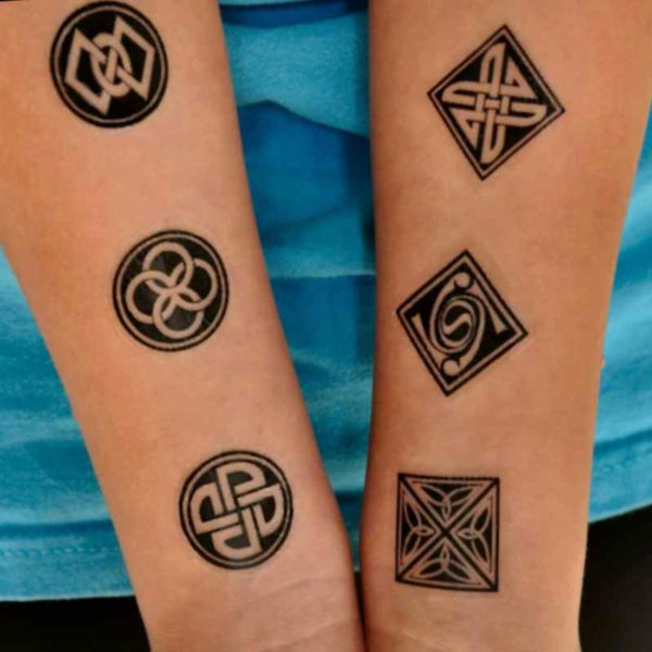 Buddhist tattoo symbols meanings