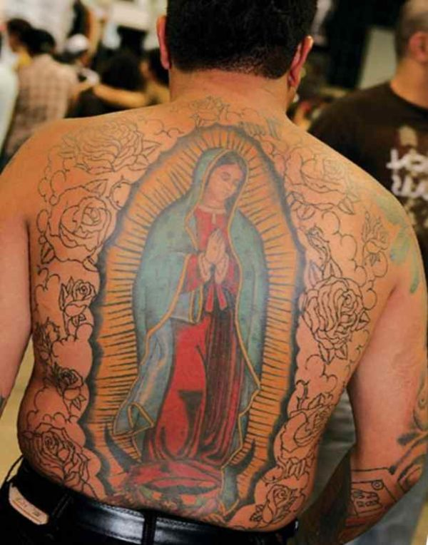 Christian tattoos for men Virgin Guadalupe