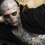 Death tatto man