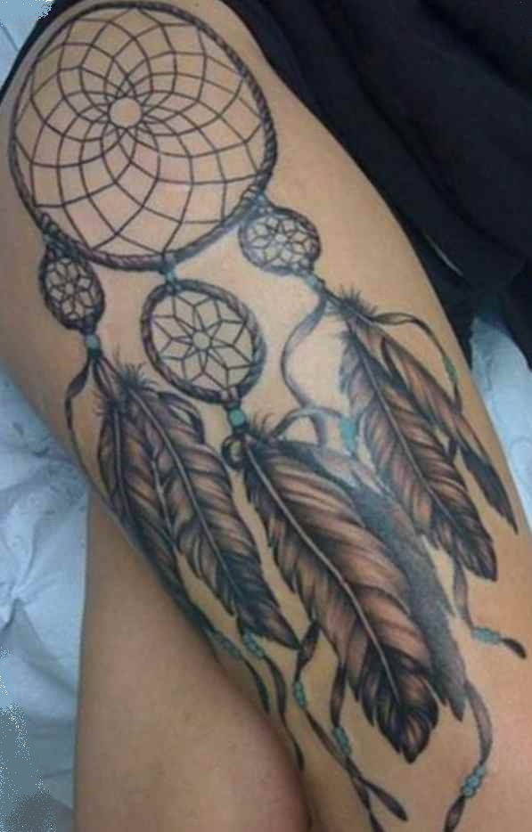 Dream Catcher tattoo Fernando Casillas