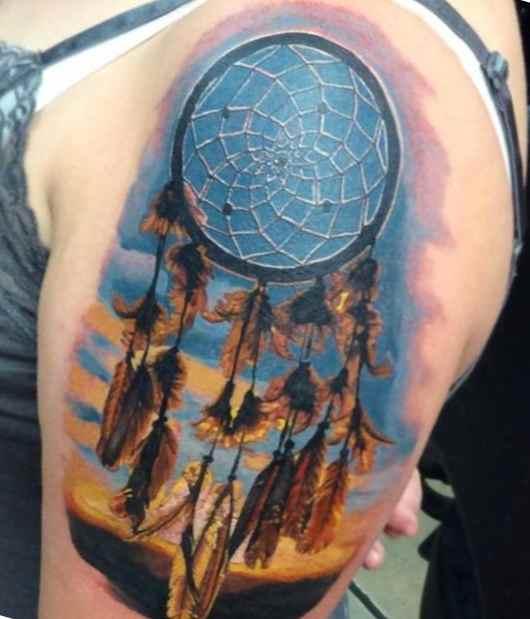 Dreamcatcher tattoo meaning