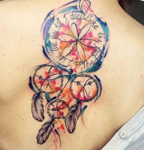 Dreamcatcher tattoo & quotes