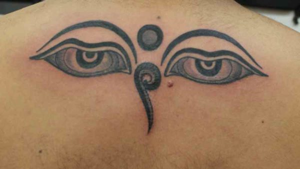 Eyes of Buddha tattoo meaning