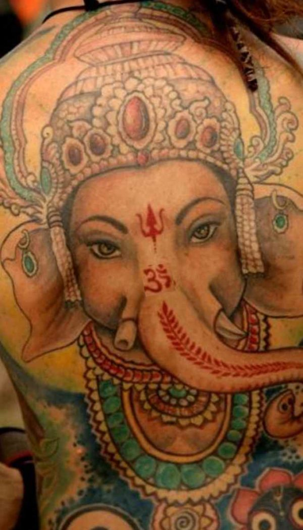 Indian Buddha tattoo meaning