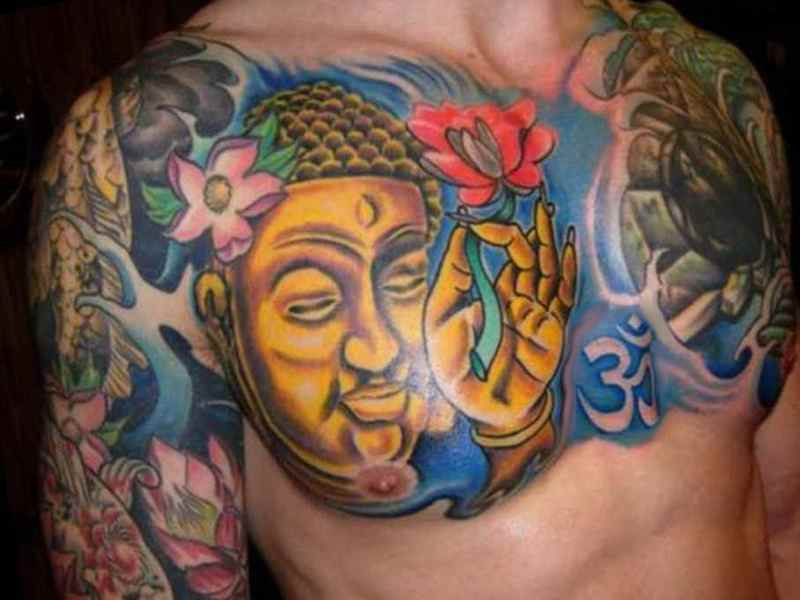 Buddha tattoos meaning tattoo designs ideas for man and for Happy buddha tattoo